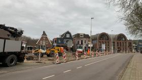 Oude Dorp Amstelveen op de schop: herinrichting in volle gang