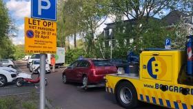 Tal van auto's weggesleept in Oude Dorp