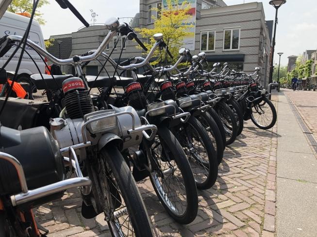 Solexen bevolken Oude Dorp Amstelveen